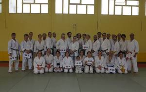 Grand stage de perfectionnement de karaté avec le Sensei Brice GARDEBIEN à Paris 19e